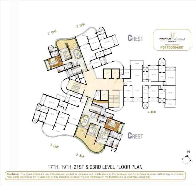 Mohan Altezza Layout & Floor Plans