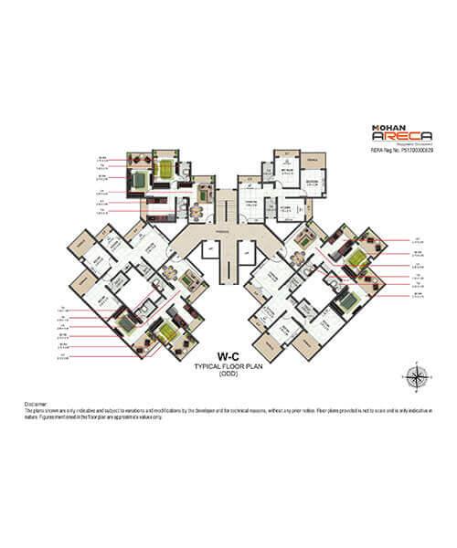 Mohan Areca Layout & Floor Plans