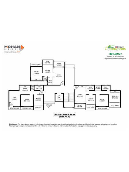 Mohan Greenwoods Layout & Floor Plans