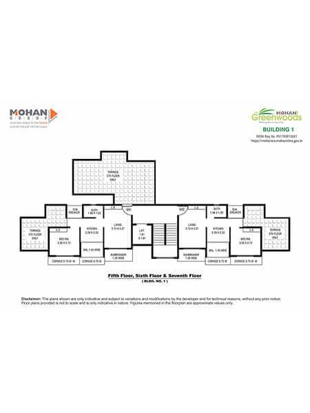 Mohan Greenwoods Layout & Floor Plans