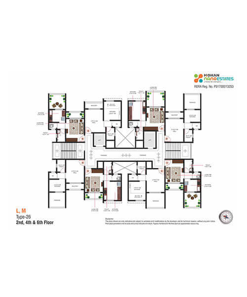 Mohan Nano Estates Layout & Floor Plans