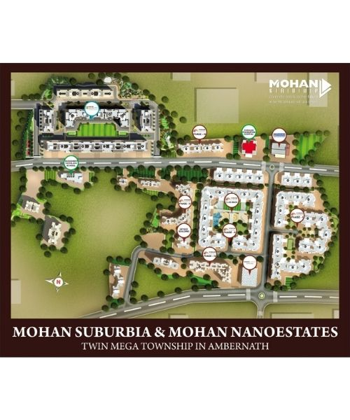Mohan Suburbia Layout & Floor Plans