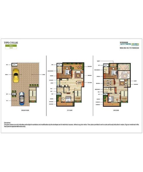Mohan Waters Edge Layout & Floor Plans