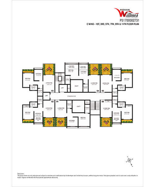 Mohan Willows Layout & Floor Plans